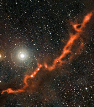 Molecular cloud - Image: Part of the Taurus Molecular Cloud