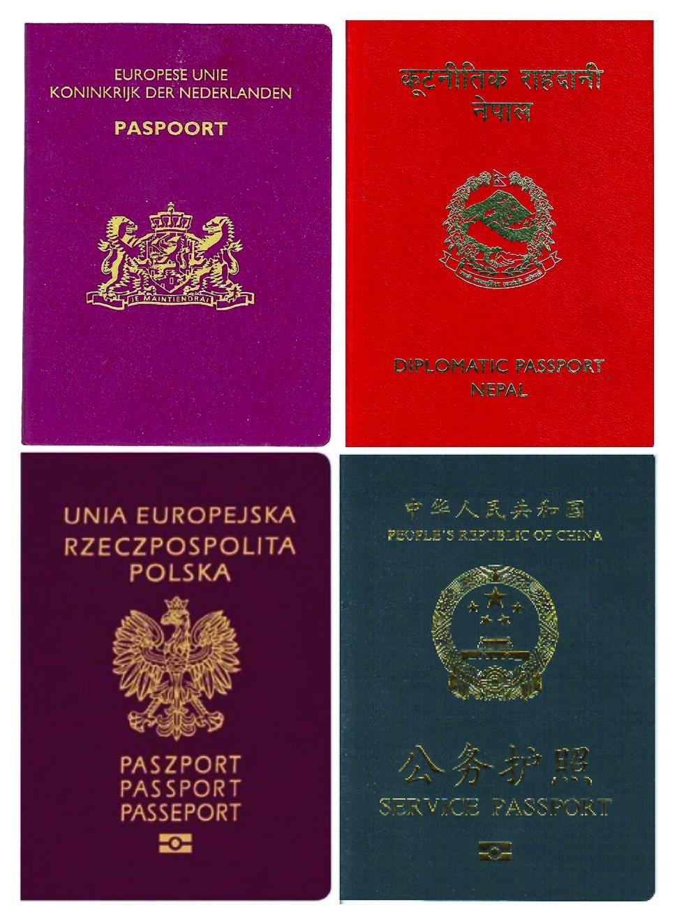 Passports-assorted