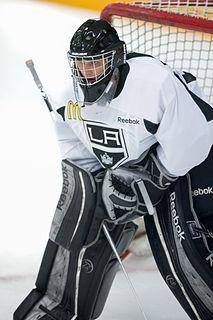 Patrik Bartošák Czech ice hockey goaltender