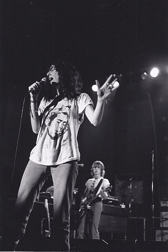 Patti Smith - Smith performing at Cornell University, 1978