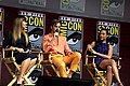 Patty Jenkins, Chris Pine & Gal Gadot at the 2018 Comic-Con International 2.jpg