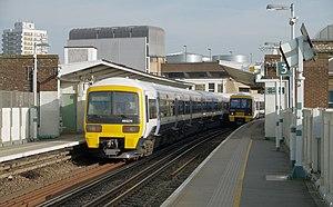 Peckham Rye railway station - Image: Peckham Rye railway station MMB 06 465011