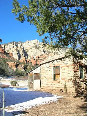 Slide Rock State Park - Pendley Homestead