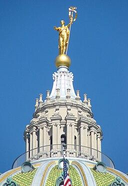 Pennsylvania Capitol dome lantern