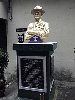 Perambur-Heritage-Walk-Lord-Baden-Powell-Statue-Founder-Scouts-Movement