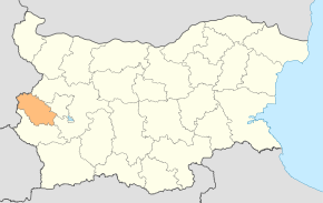 Pernik Province location map.svg