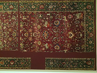 Persian carpet - Persian Safavid period Animal carpet 16th century, Museum für Kunst und Gewerbe Hamburg