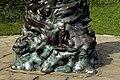 Peter Pan statue in Kensington Gardens in the City of Westminster in London, spring 2013 (16).JPG