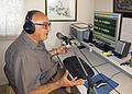 Peter Paul Ciantar during recording for Radio Malta.jpg