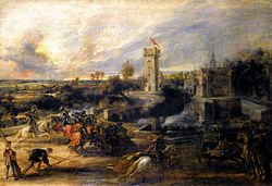 Peter Paul Rubens - Tournament in front of Castle Steen - WGA20410.jpg
