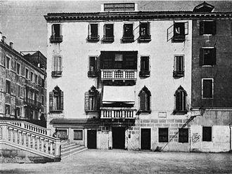 Petrarch's library - Palazzo Molina