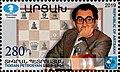 Petrosian 2019 stamp of Artsakh.jpg