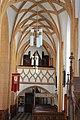 Pfarrkirche Bleiburg - Blick zur Orgelempore.JPG