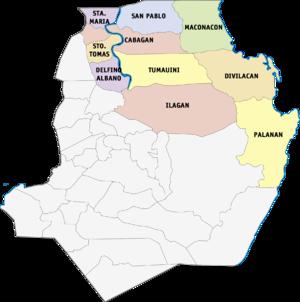 Legislative districts of Isabela - 1st District of Isabela