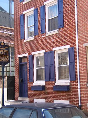 Bella Vista, Philadelphia - Frances Ellen Watkins Harper House