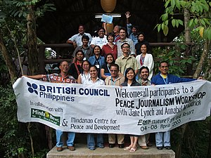 Peace journalism - Peace journalism workshop in Mindanao, the Philippines
