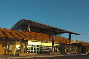 Phoenix–Mesa Gateway Airport - Phoenix-Mesa Gateway Airport Baggage Claim Building