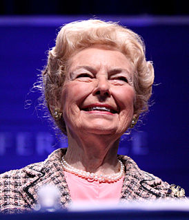 Social policies of Phyllis Schlafly