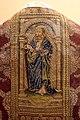 Pianeta con santi, in damasco paonazzo broccato d'oro e ricami, dal duomo di massa marittima, 1490 ca. 02 paolo.jpg