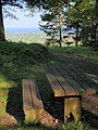 Picnic table, Mamhead Point - geograph.org.uk - 814804.jpg