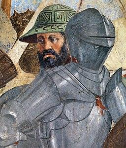 Piero della Francesca - 8. Battle between Heraclius and Chosroes (detail) - WGA17553