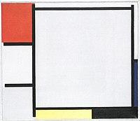 Piet Mondriaan - Composition with red, blue, yellow, black and gray - B137 - Piet Mondrian, catalogue raisonné.jpg
