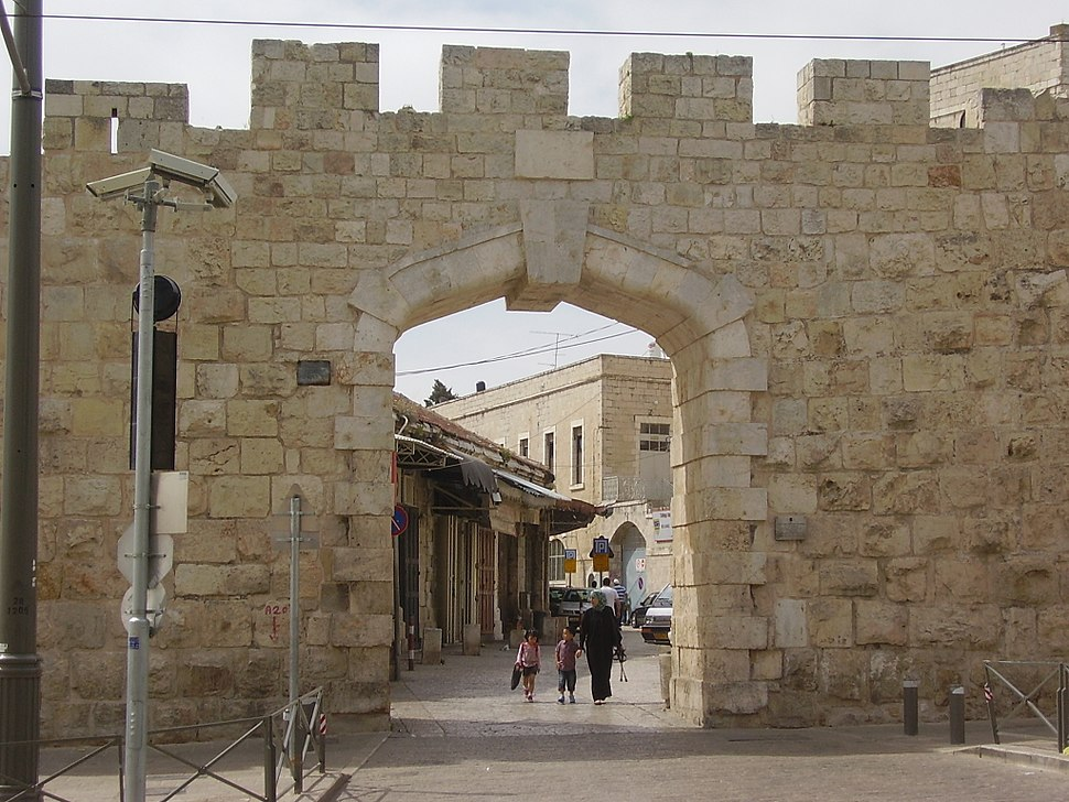 PikiWiki Israel 13144 New Gate of Jerusalems Old City wall