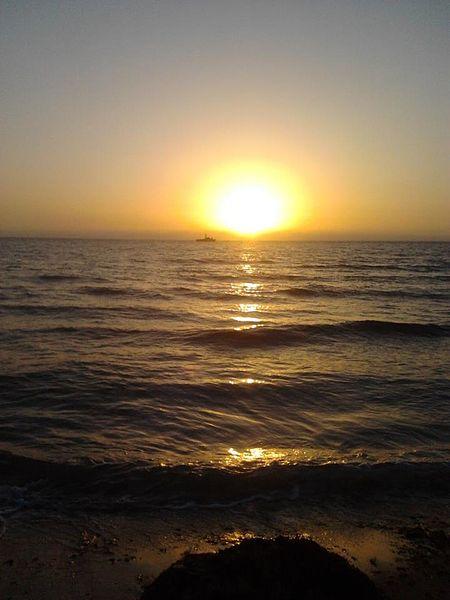 שקיעת השמש