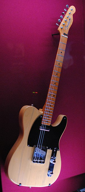 Remember a Day - For 'Later...', Gilmour played the song on his 'Fender Telecaster 52V', a 1982 reissue of the 1952 original; seen here displayed at the Pink Floyd: Their Mortal Remains exhibition