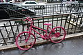 Pink bike, Paris 23 January 2016.jpg
