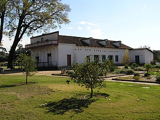 Pio Pico State Historic Park - The adobe and grounds after the 2000–2003 restoration