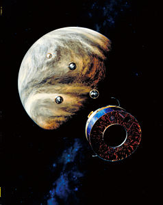 Pioneer Venus Multiprobe spacecraft.jpg