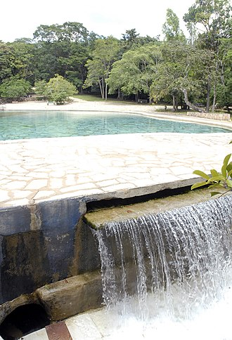 Brasília National Park - Reservoir within the park