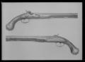 Pistol med flintlås, ändrat till slaglås, Brescia-Gardone ca 1730 - Livrustkammaren - 27550.tif