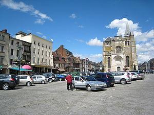 Le Neubourg - Image: Place le neubourg