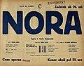 Plakat za predstavo Nora v Narodnem gledališču v Mariboru 8. maja 1934.jpg
