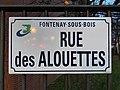 Plaque rue Alouettes Fontenay Bois 5.jpg