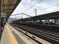 Platform of Shin-Yamaguchi Station (Sanyo Shinkansen) 3.jpg