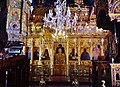Platres Kloster Trooditissa Katholikon Innen Ikonostase 2.jpg