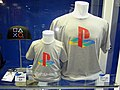 PlayStation classic logo gray t-shirts at Taipei Game Show 20170123.jpg