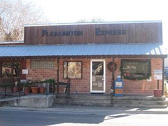 Pleasanton, Texas - Image: Pleasanton, TX Express newspaper IMG 2623