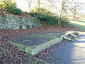 Plinth of western shelter, Sefton Park.jpg