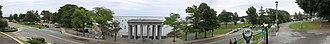 Plymouth Rock - Image: Plymouth harbor panorama
