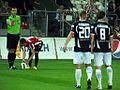 Podczas meczu Cracovia - Stomil Olsztyn (8145570204).jpg