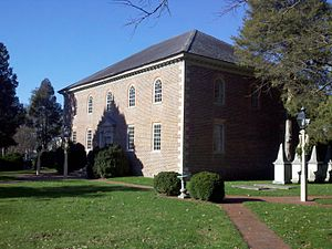 Pohick Church - Pohick Church, seen in 2012