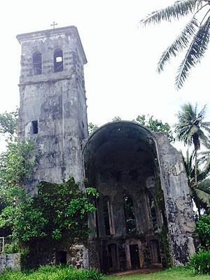 National Register of Historic Places listings in the Federated States of Micronesia - Image: Pohnpei's Bell Tower