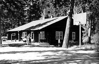 Polebridge Ranger Station Historic District Ranger station