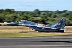 Polish Air Force MiG-29 take off at RIAT15.jpg