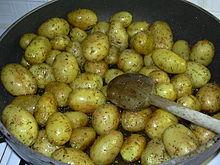 R gime et gastronomie recettes wikilivres - Pomme de terre grille a la poele ...