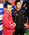 Pongsaklek Wonjongkam & Daisuke Naitō, Mar. 2010.jpg